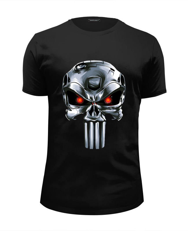 Футболка Wearcraft Premium Slim Fit Printio Punisher of the future детская футболка классическая унисекс printio punisher of the future