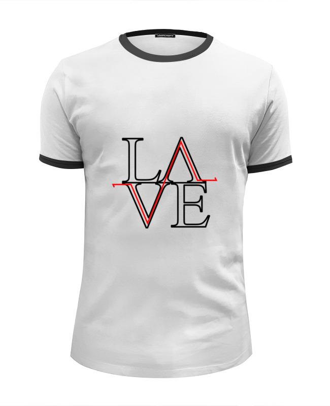 Футболка Wearcraft Premium Slim Fit Printio Love art-object футболка для беременных printio object
