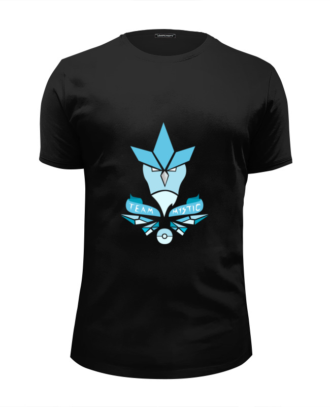 Футболка Wearcraft Premium Slim Fit Printio Team mystic