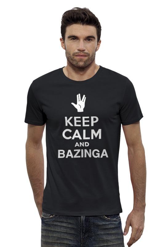 Футболка Wearcraft Premium Slim Fit Printio Bazinga (the big bang theory) футболка wearcraft premium slim fit printio bazinga the big bang theory