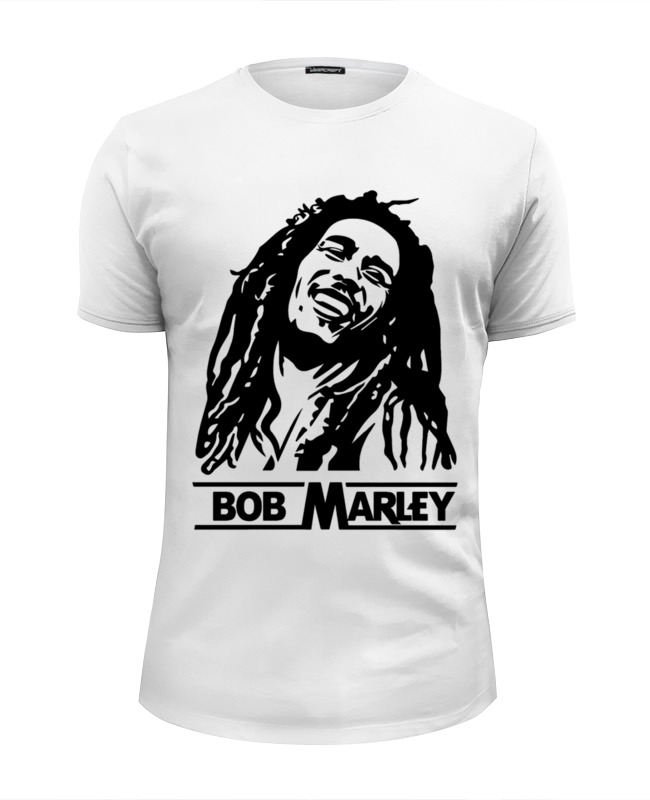 Printio Bob marley футболка wearcraft premium slim fit printio амелия понд