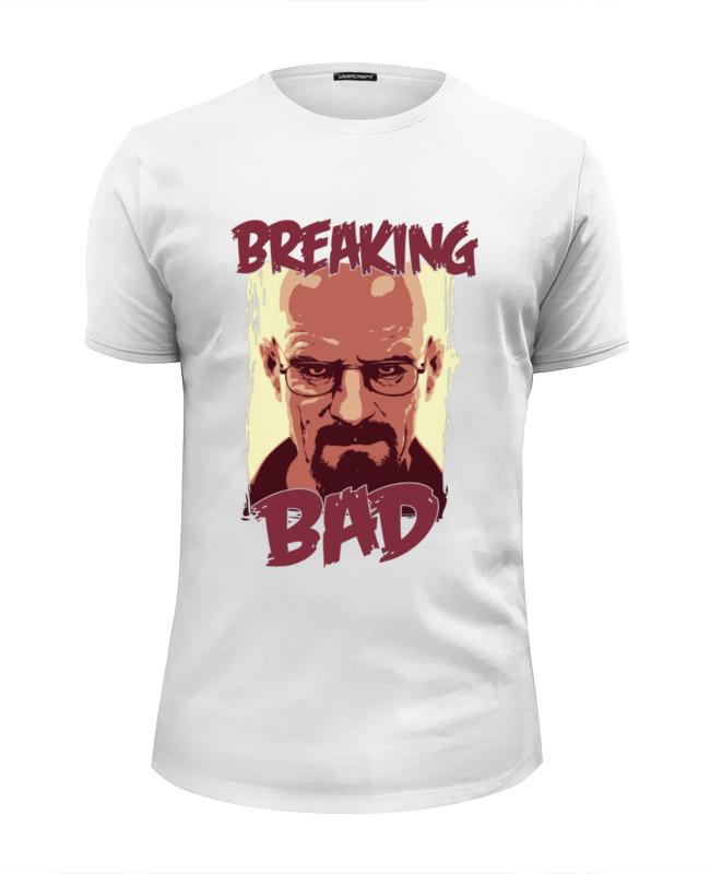 Футболка Wearcraft Premium Slim Fit Printio Breaking bad | во все тяжкие футболка wearcraft premium slim fit printio god of meth breaking bad