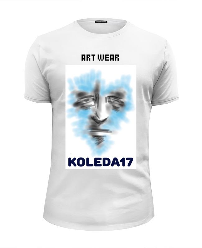Футболка Wearcraft Premium Slim Fit Printio Art face 2 футболка wearcraft premium slim fit printio face girl