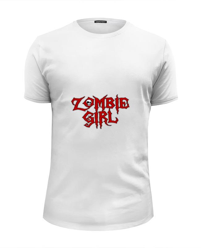 Футболка Wearcraft Premium Slim Fit Printio Девушка зомби футболка wearcraft premium slim fit printio сексуальная девушка в молоке