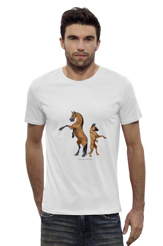 Футболка Wearcraft Premium Slim Fit Printio Буланый пони/малинуа купить щенка тувинская и бельгийская овчарка в екатеринбурге