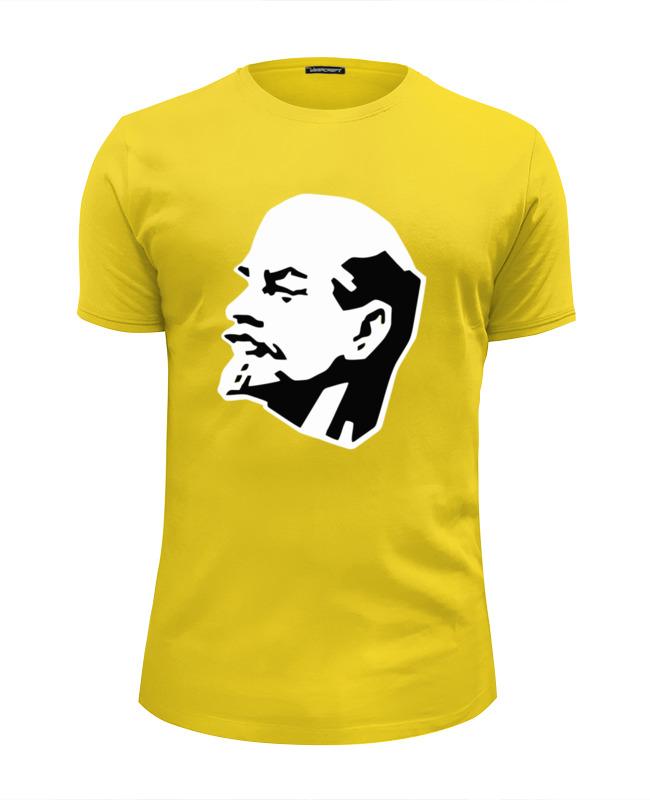 Футболка Wearcraft Premium Slim Fit Printio Ленин футболка wearcraft premium slim fit printio ленин