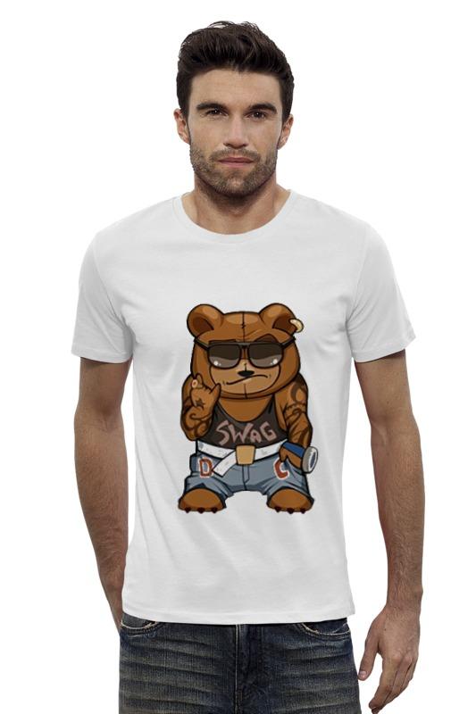 Футболка Wearcraft Premium Slim Fit Printio Swag мишка футболка wearcraft premium slim fit printio мишка me to you
