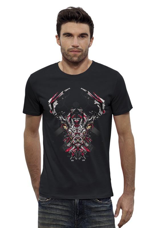 Футболка Wearcraft Premium Slim Fit Printio Олень футболка wearcraft premium slim fit printio шахматиста