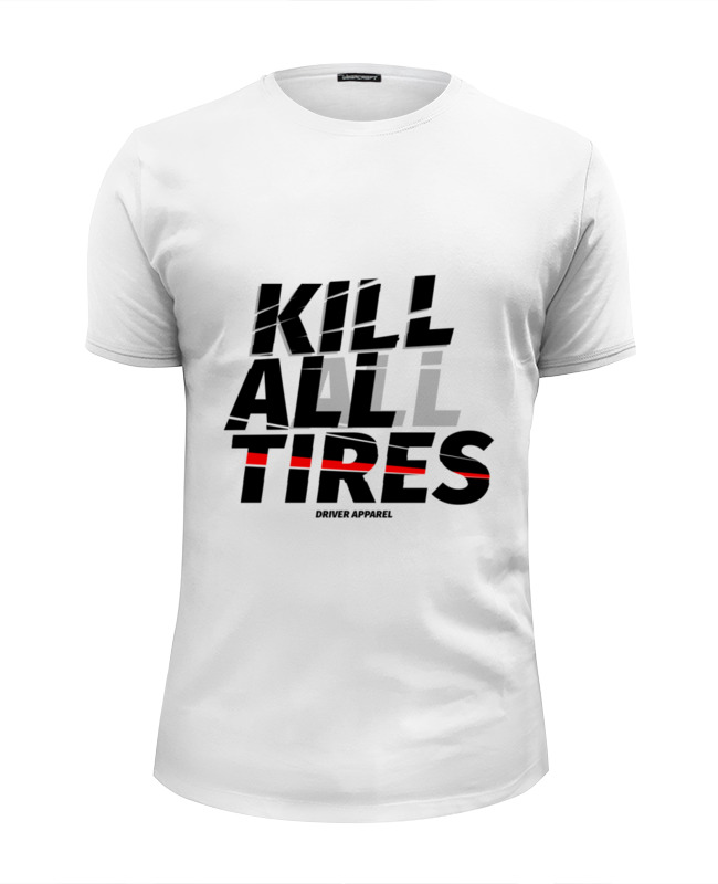 Printio Kill all tires - drift car футболка wearcraft premium slim fit printio drift machine 180sx