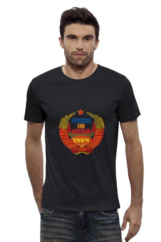 Футболка Wearcraft Premium Slim Fit Printio Ussr 1964 футболка wearcraft premium slim fit printio ussr 1966
