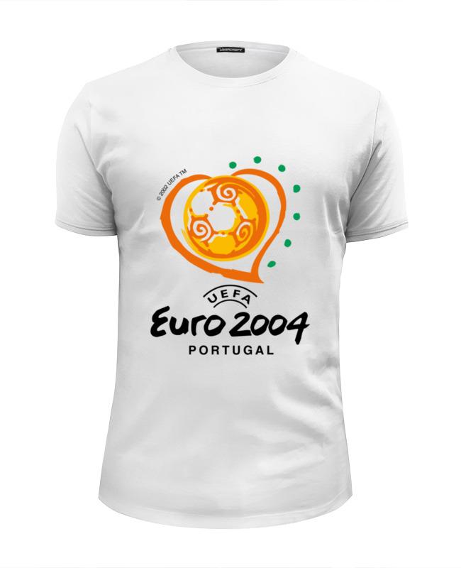 Футболка Wearcraft Premium Slim Fit Printio Чемпионат европы по футболу 2004 gianna июня европы с высоким раунд с шу ци звезда blk полоса тонкая длинная рубашка холтер платье