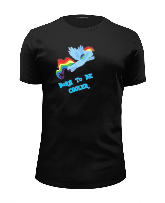 Футболка Wearcraft Premium Slim Fit Printio Must be cooler! футболка wearcraft premium printio must be cooler