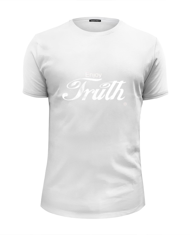 Футболка Wearcraft Premium Slim Fit Printio Coca cola enjoy truth! кружка printio coca cola