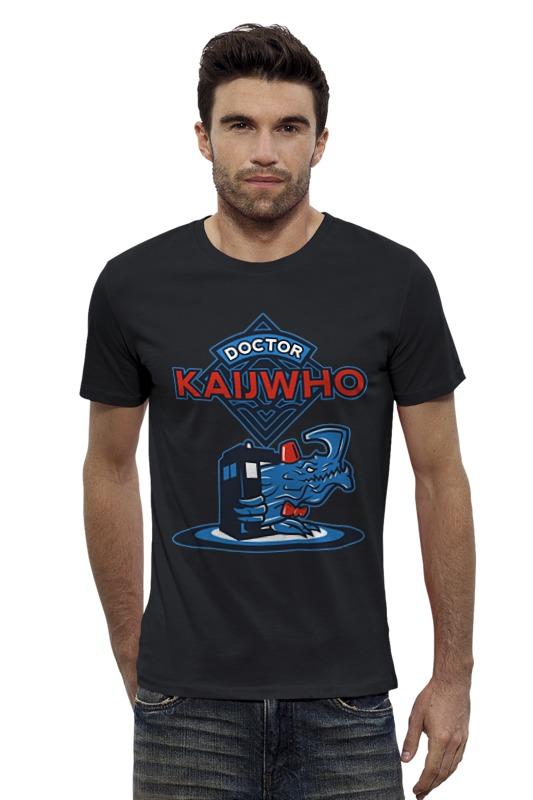 Футболка Wearcraft Premium Slim Fit Printio Doctor who x kaiju майка классическая printio doctor who x kaiju