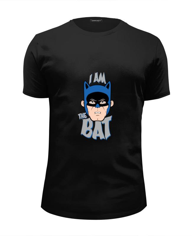 Футболка Wearcraft Premium Slim Fit Printio I am the bat
