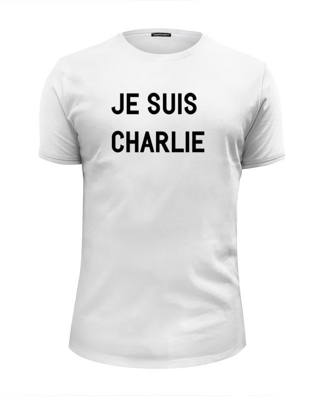 Футболка Wearcraft Premium Slim Fit Printio Je suis charlie футболка wearcraft premium slim fit printio charlie hebdo