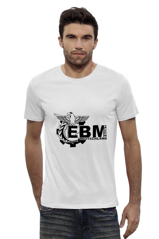 Футболка Wearcraft Premium Slim Fit Printio Ebm deutschland лого