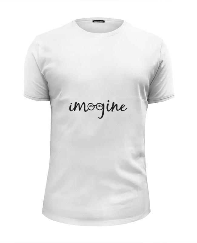 Футболка Wearcraft Premium Slim Fit Printio Imagine (леннон) футболка классическая printio imagine леннон