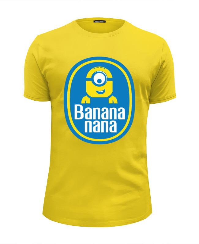 Футболка Wearcraft Premium Slim Fit Printio Banana minion футболка wearcraft premium slim fit printio banana миньоны