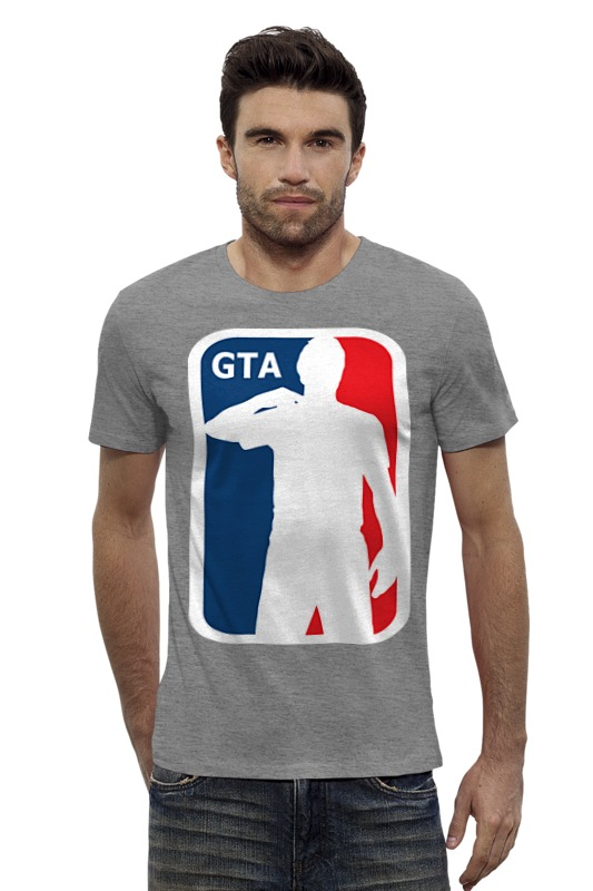 Футболка Wearcraft Premium Slim Fit Printio Гта (gta) футболка wearcraft premium printio gta 5 poster
