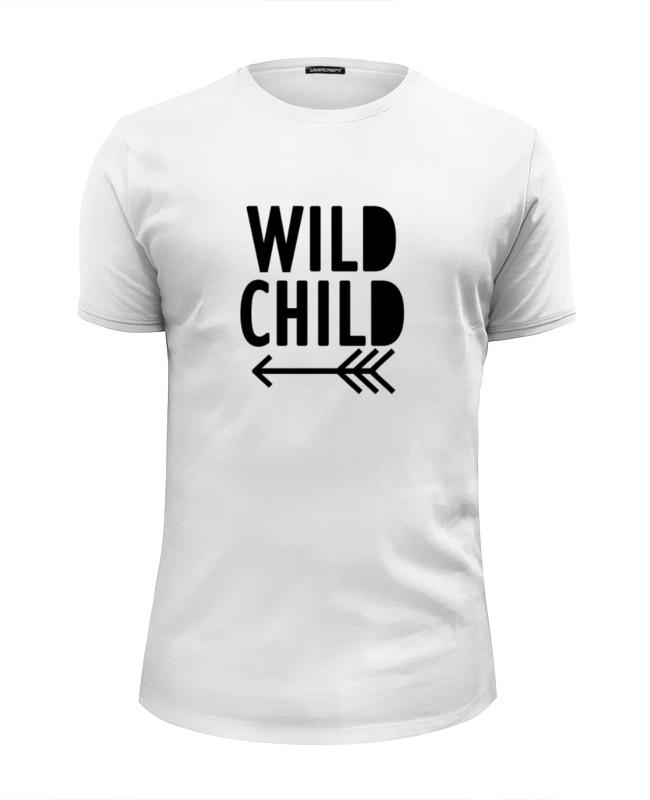 Футболка Wearcraft Premium Slim Fit Printio Wild child jeanne willis wild child