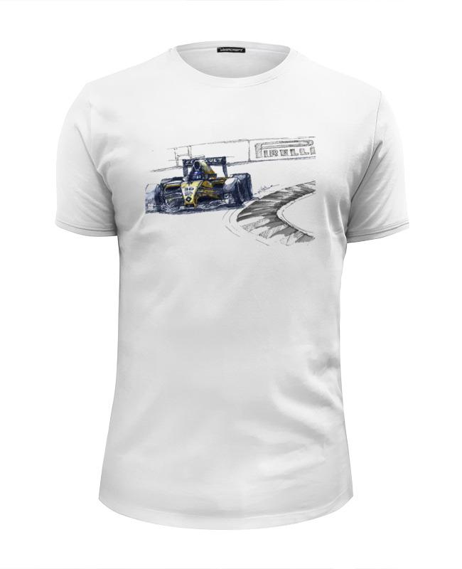 Футболка Wearcraft Premium Slim Fit Printio Formula 1 цены