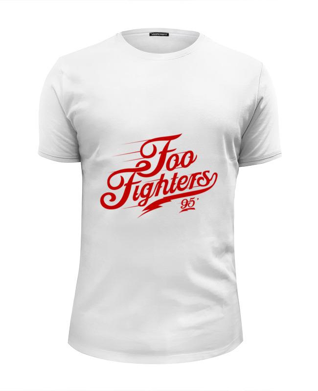 Футболка Wearcraft Premium Slim Fit Printio Foo fighters толстовка wearcraft premium унисекс printio foo fighters