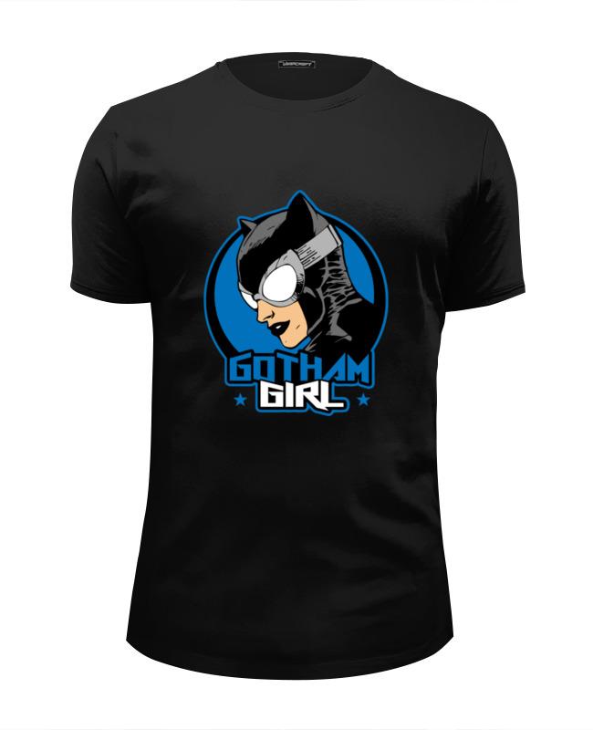 Футболка Wearcraft Premium Slim Fit Printio Женщина-кошка футболка wearcraft premium slim fit printio потягивающаяся кошка