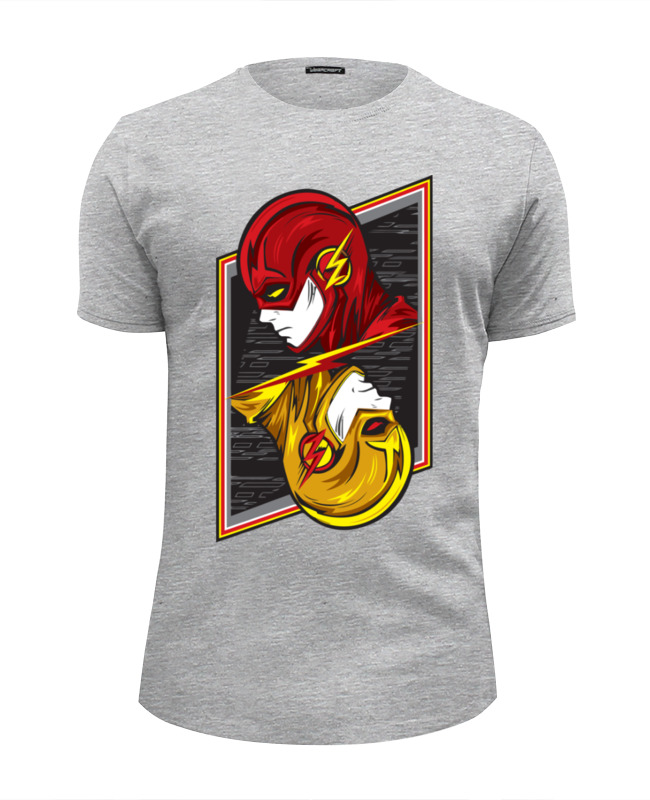 Футболка Wearcraft Premium Slim Fit Printio Flash (молния) футболка wearcraft premium slim fit printio flash футболка шелдона