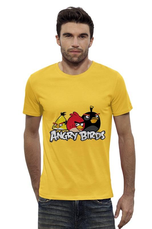Футболка Wearcraft Premium Slim Fit Printio Angry birds