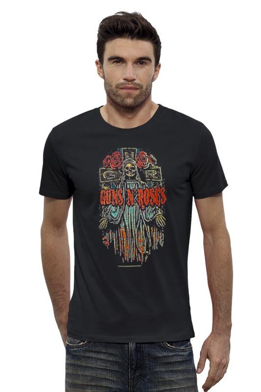 Футболка Wearcraft Premium Slim Fit Printio Guns n' roses футболка wearcraft premium slim fit printio guns n roses