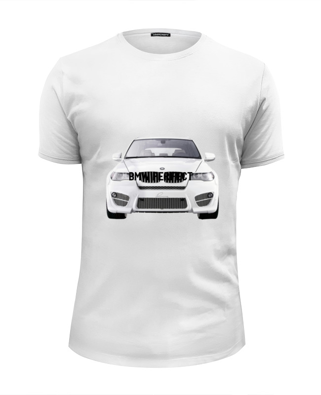 Футболка Wearcraft Premium Slim Fit Printio Bmw perfect футболка perfect j perfect j pe033ewrlz60