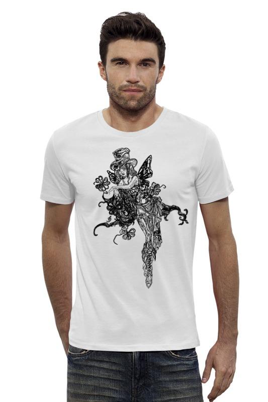 Футболка Wearcraft Premium Slim Fit Printio Ядовитый плющ футболка wearcraft premium slim fit printio черно белый шут