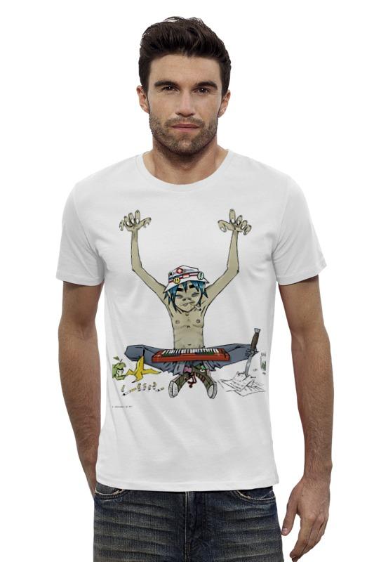 Футболка Wearcraft Premium Slim Fit Printio Gorilaz футболка wearcraft premium slim fit printio avengers