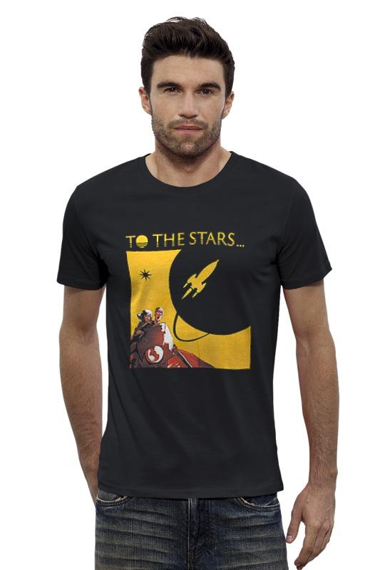 Футболка Wearcraft Premium Slim Fit Printio To the stars dream world футболка wearcraft premium slim fit printio we are weird and the wonderful