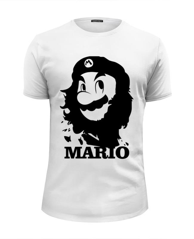 Футболка Wearcraft Premium Slim Fit Printio Mario x che