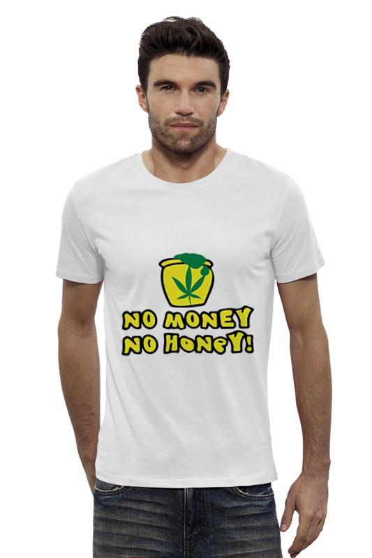 Футболка Wearcraft Premium Slim Fit Printio No money no honey! (нет денет, нет меда!) футболка wearcraft premium slim fit printio нет проблем no prob llama