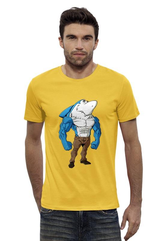Футболка Wearcraft Premium Slim Fit Printio Зубастая рыбка футболка wearcraft premium slim fit printio золотая рыбка