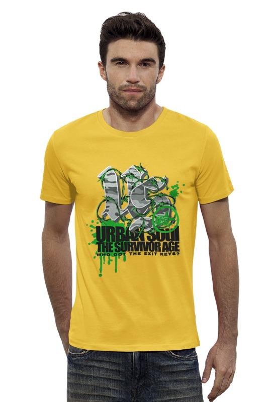 Футболка Wearcraft Premium Slim Fit Printio Urban soul футболка wearcraft premium printio urban environment arsb