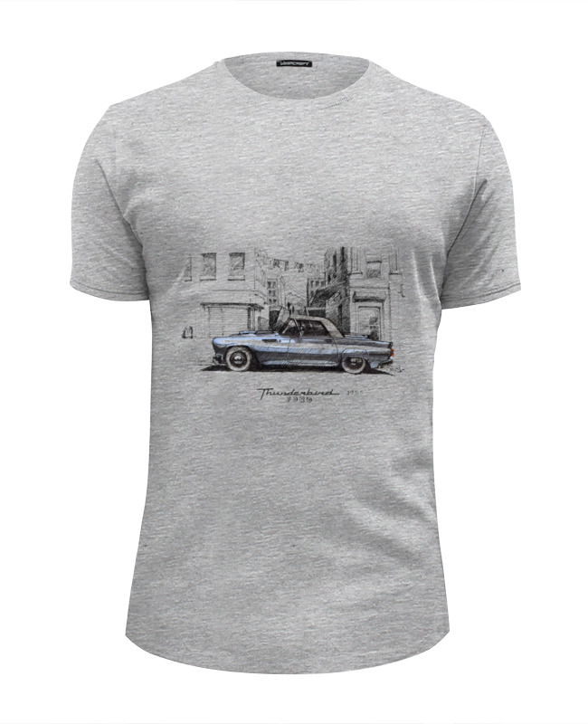 Футболка Wearcraft Premium Slim Fit Printio ford thunderbird motormax модель автомобиля ford thunderbird 1956 цвет красный