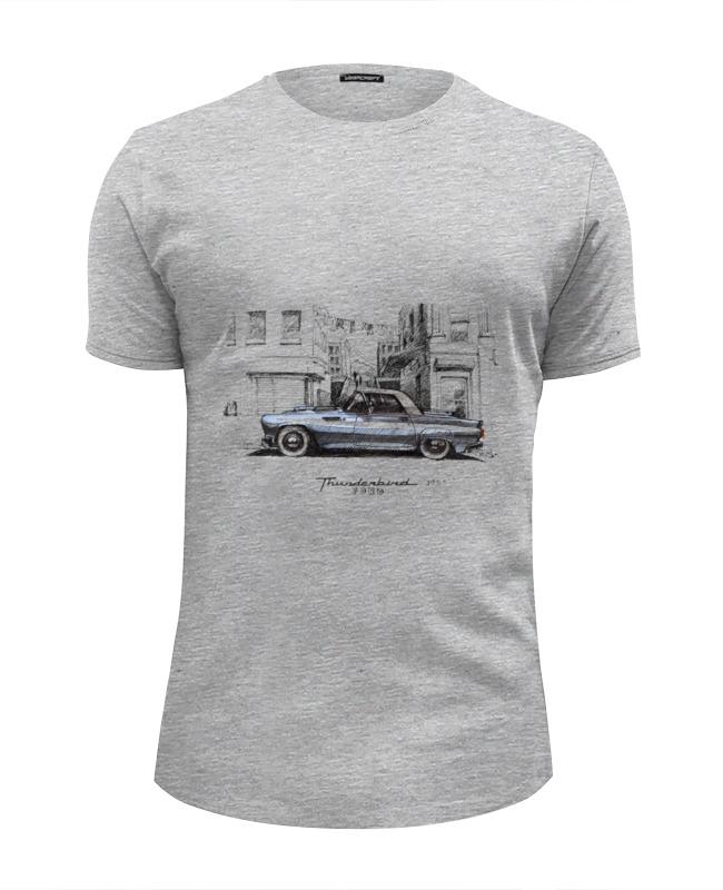 Футболка Wearcraft Premium Slim Fit Printio ford thunderbird машинки motormax автомобиль 1956 ford thunderbird