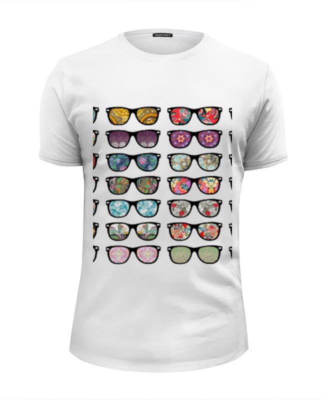 Футболка Wearcraft Premium Slim Fit Printio Sunglasses
