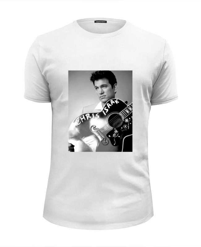 Футболка Wearcraft Premium Slim Fit Printio Chris isaak braun j 300