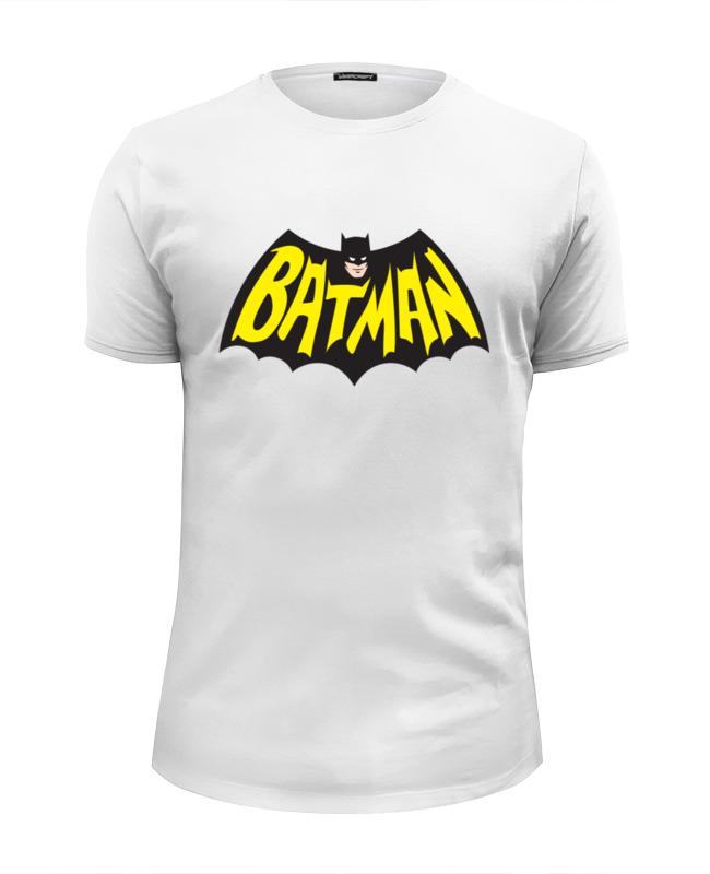 Футболка Wearcraft Premium Slim Fit Printio Бэтмен (batman) футболка wearcraft premium slim fit printio бэтмен зомби batman zombie