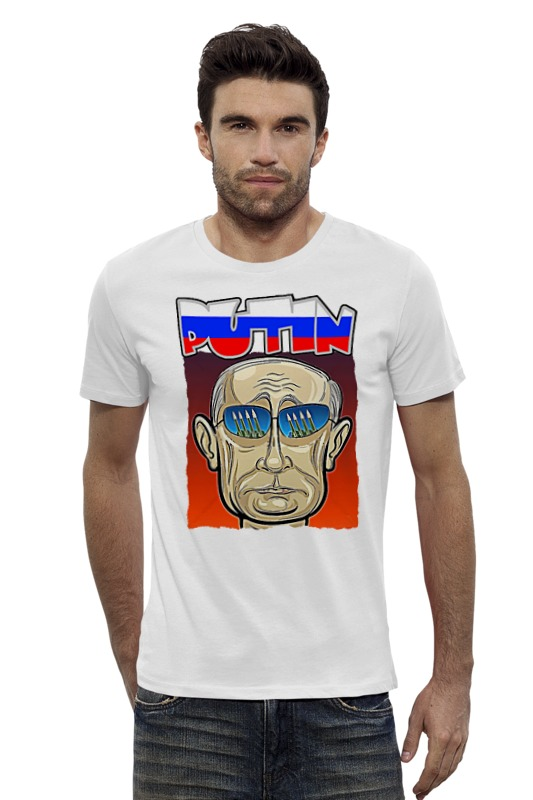 Футболка Wearcraft Premium Slim Fit Printio Putin футболка wearcraft premium slim fit printio putin