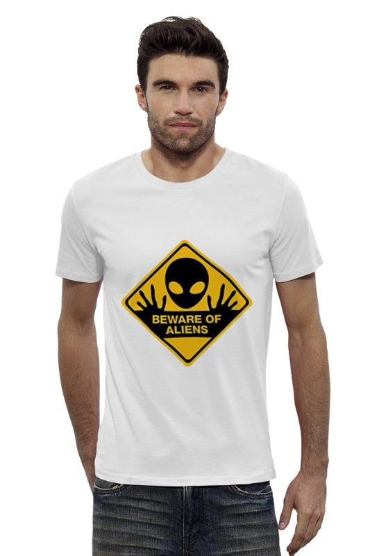 Футболка Wearcraft Premium Slim Fit Printio Инопланетянин printio футболка wearcraft premium slim fit