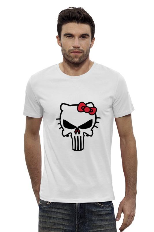 Футболка Wearcraft Premium Slim Fit Printio Каратель футболка wearcraft premium slim fit printio vampire