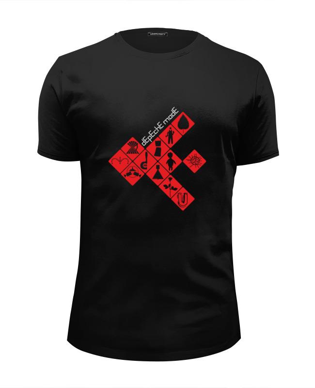 Футболка Wearcraft Premium Slim Fit Printio Depeche mode / symbols футболка print bar sea symbols