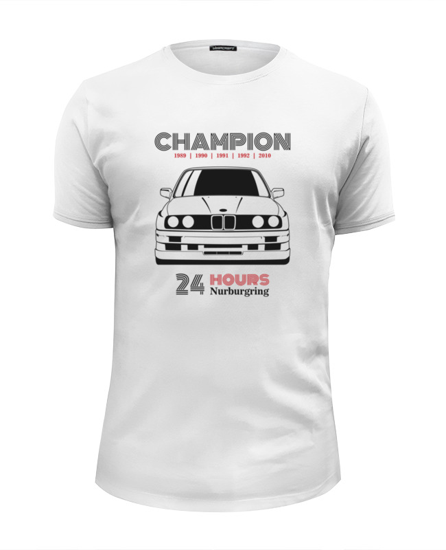 Футболка Wearcraft Premium Slim Fit Printio Champion m3 e30