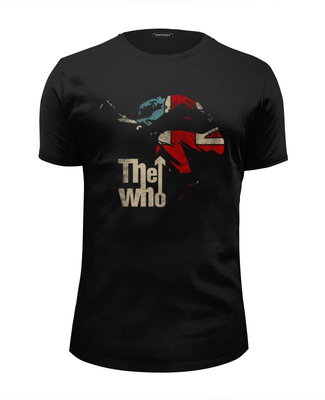 Футболка Wearcraft Premium Slim Fit Printio The who